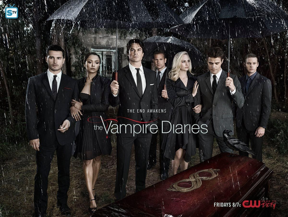 The End Awakens The Vampire Diaries Season 8 Vampire Diaries