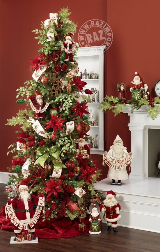 RAZ Merry Mistletoe Decorated Tree visit Shelley B HH for a list of ...
