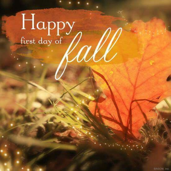 Happy 1st day of Fall | DAYS OF THE WEEK..& MONTHS ...