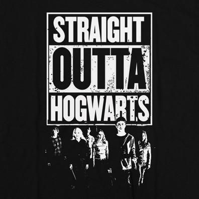 Straight Out Of Hogwarts T-Shirt