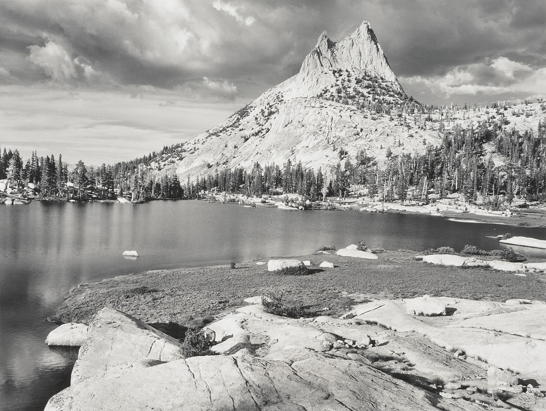 "Waterfall Yellowstone National Park 8.5x11/"" Photo Print Ansel Adams Landscape"