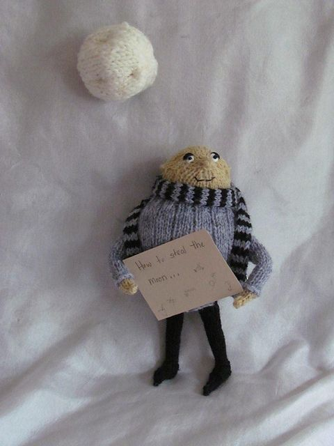 Gru Doll From Despicable Me Free Knitting Pattern Pdf Format