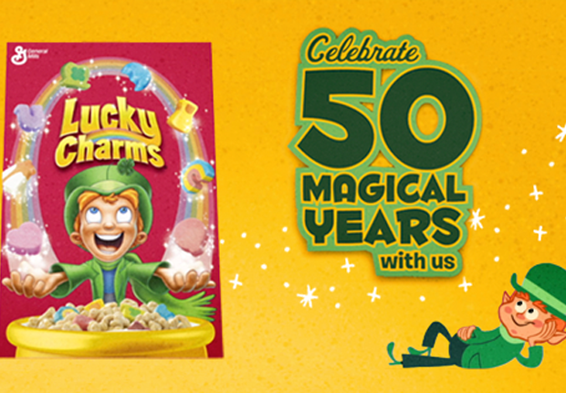 The 50 Year History Of Lucky Charms In 65 Marbits Lucky Charm Lucky Charms Cereal Lucky