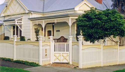 capped picket fence - Google Search