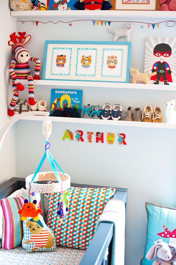 Chambre bébé garcon moderne, de très jolies idées déco Nursery