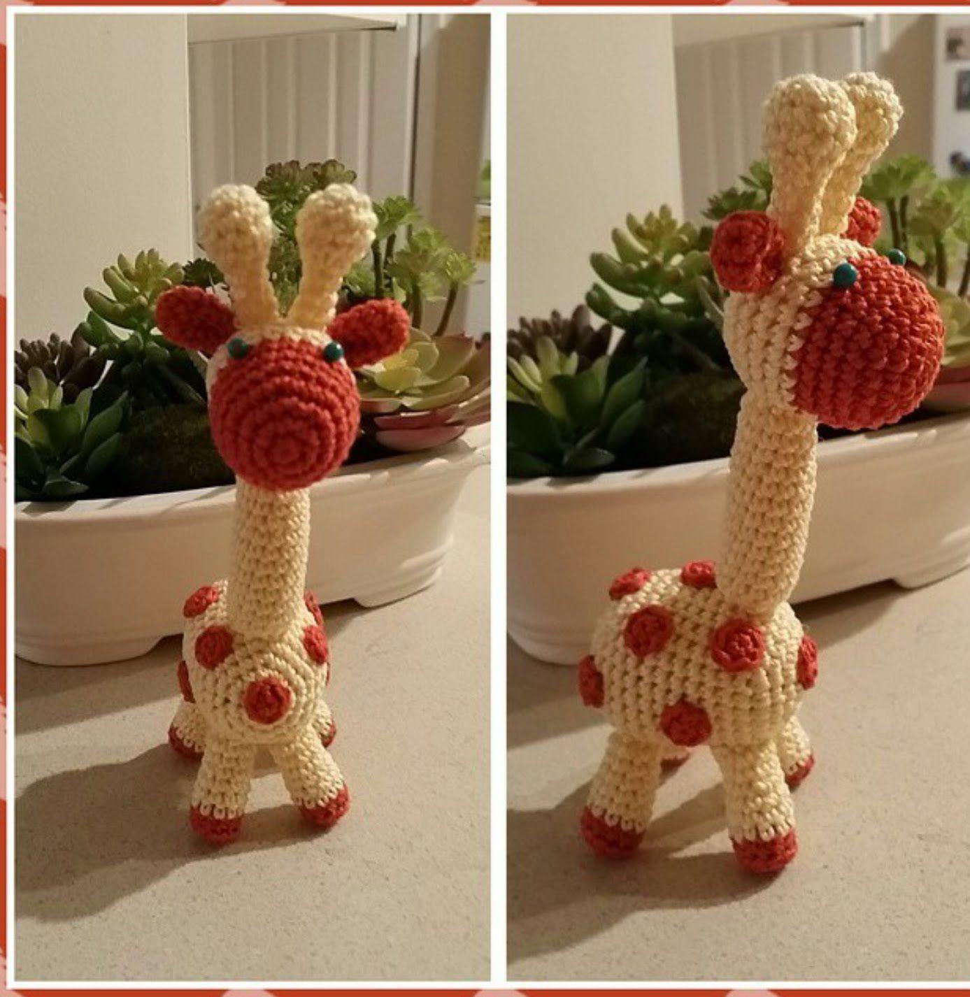 вязание крючком игрушки жираф мастер класс куклы вязание