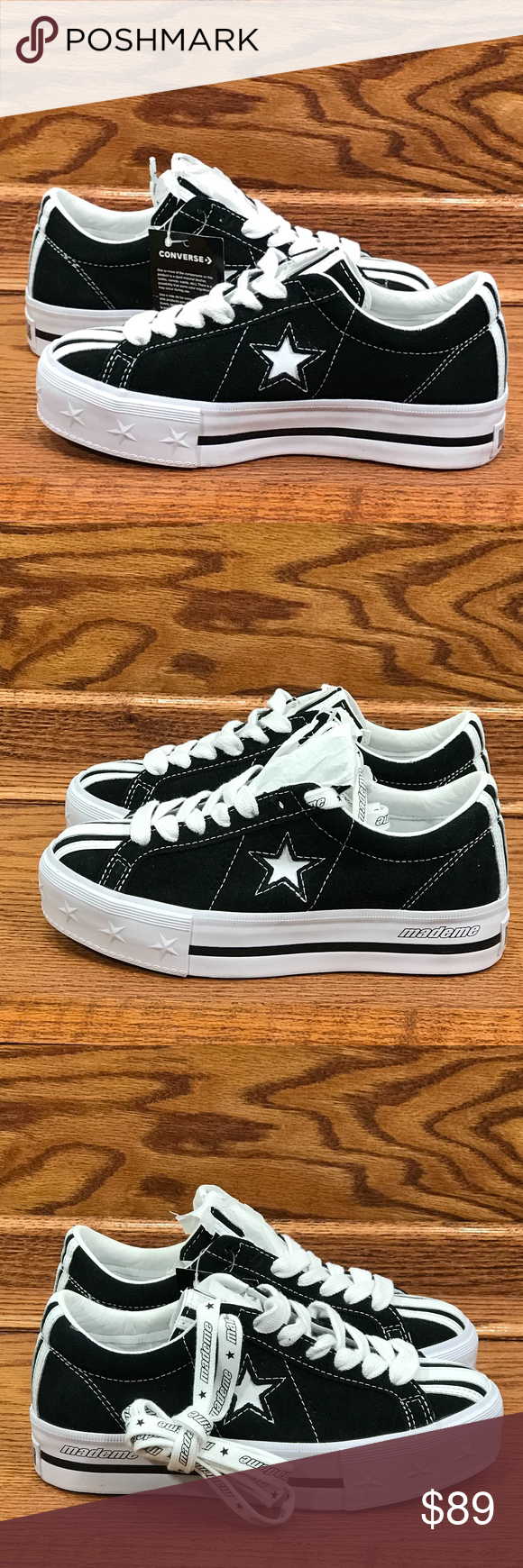 diversified latest designs new products fashionable style Converse One Star Platform MadeMe Black White Converse One ...