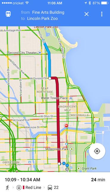 Direction Finder Google Maps on