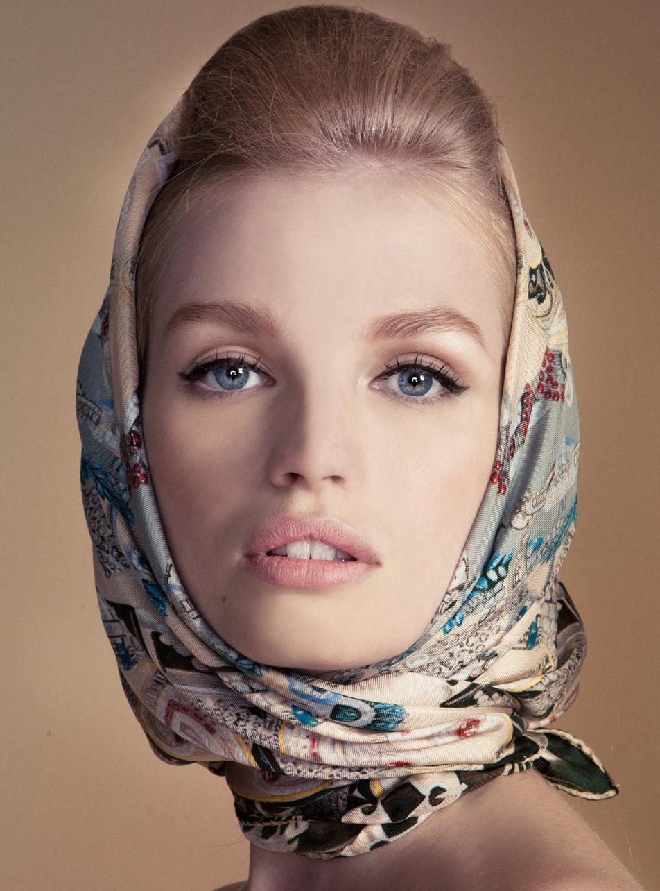 Silk Scarf   Head scarf styles, Head scarf tying, Scarf ...