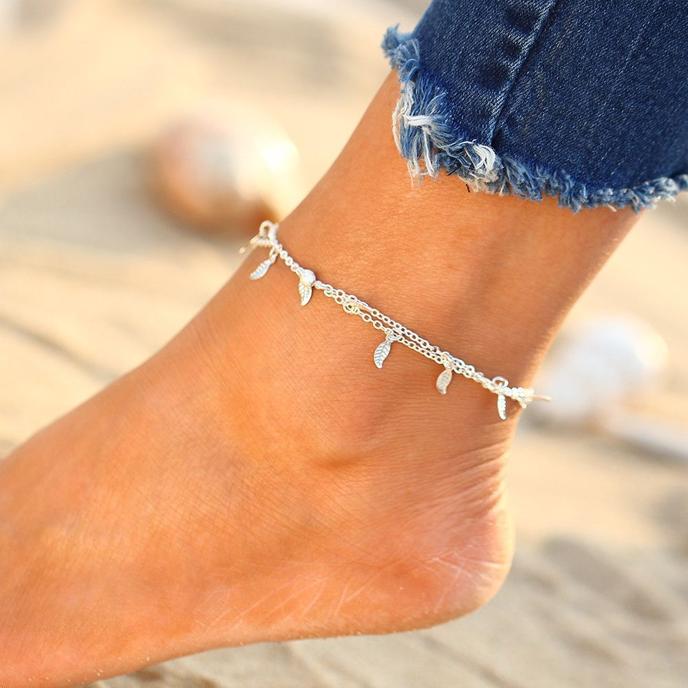 boho anklet bracelet female cool leg fashion chain sexy sandals wedding product best jewelry ankle foot crystal beach pie bracelets barefoot