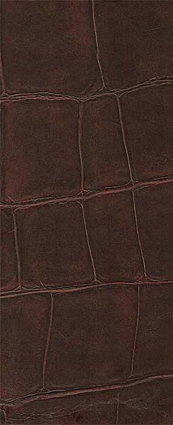 IEAB VP423 11 Faux Croc Leather Wallpaper Brown