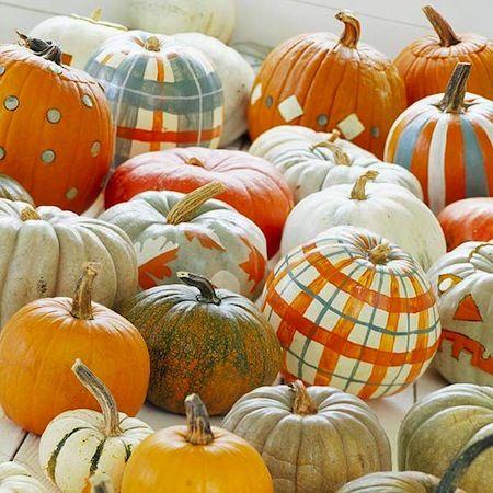 no carve pumpkin ideas for kids halloween decor Fall Pinterest