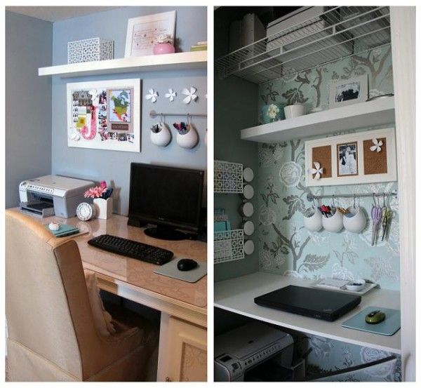 diy closet office. Closet Home Office Ideas Diy U