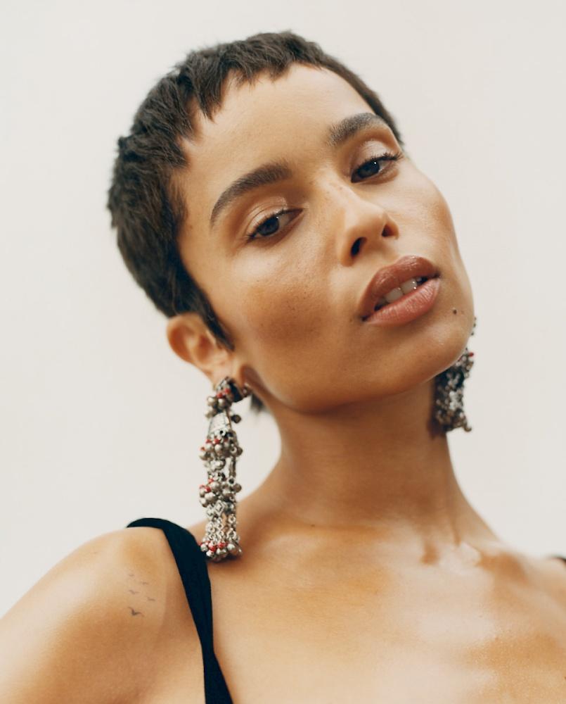Sunday Times Magazine Zoe Kravitz Bird Production In 2020 Short Hair Styles Hair Styles Hair Inspiration