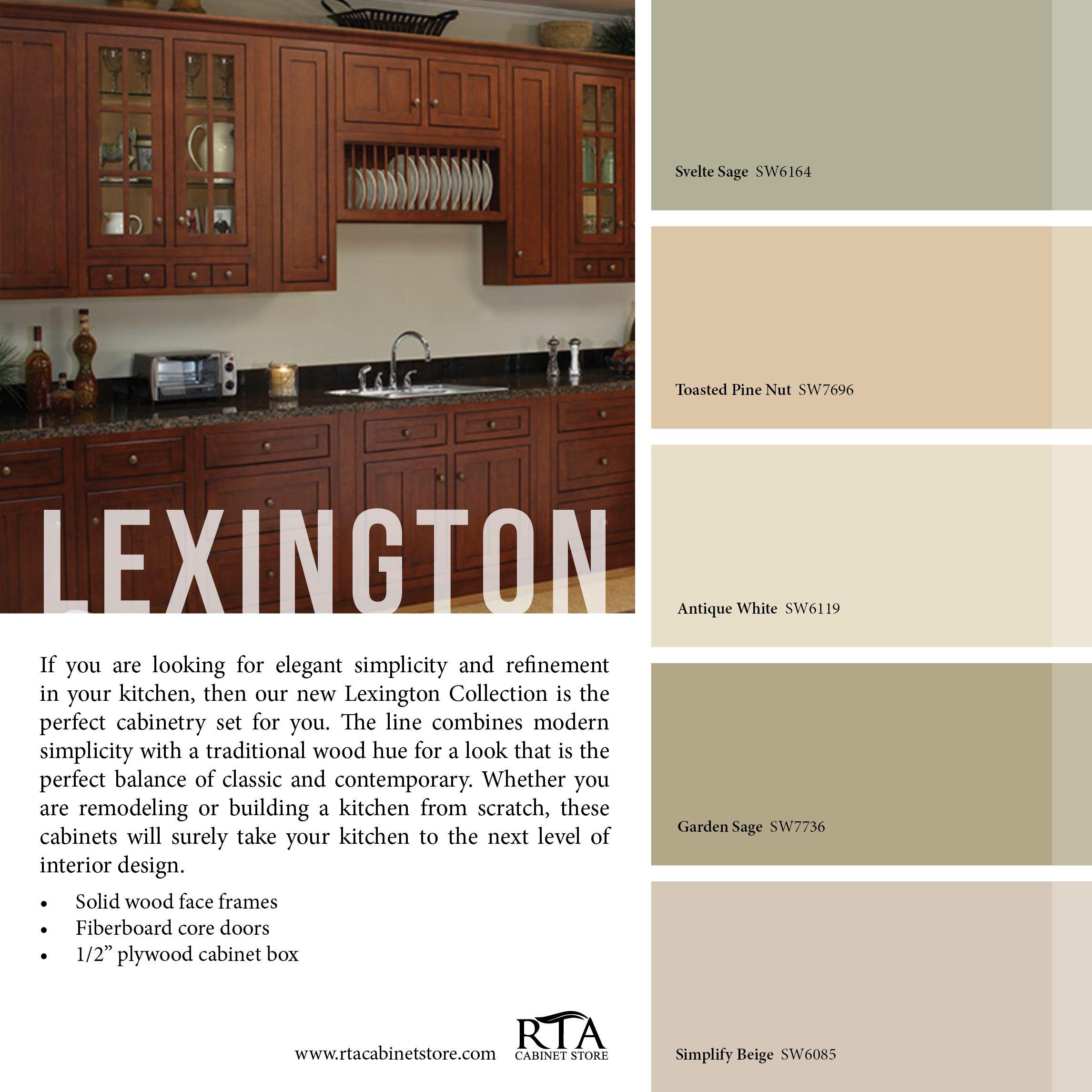Color Palette To Go With Our Lexington Cabinet Line Online Kitchen Design Buy Kitchen Cabinets Online Kitchen Tools Design