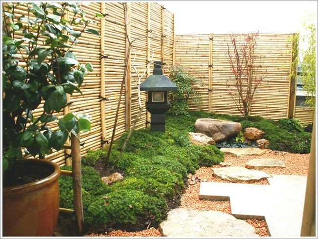 Superb Home Garden Design With Japanese Style Garden