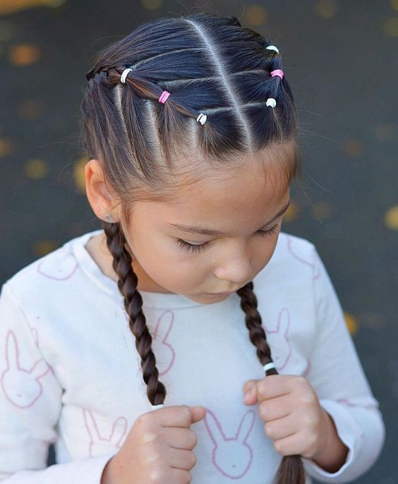 60+ Sweet And Lovely Children&039;S Braided Hairstyles You Will Like - Page 38 Of 69 - Lialip - Hair Beauty