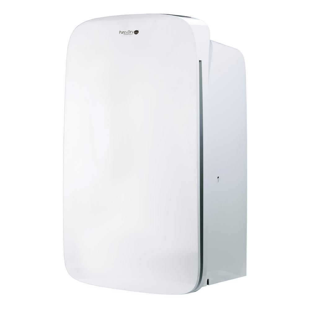 Aerus 70 Pint Dehumidifier With Hepa Filtration Energy Star Whites Dehumidifiers Air Purifier Pure Products