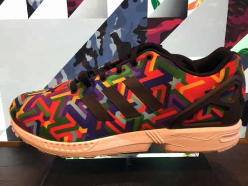 Adidas Zx Flux Rainbow Prism