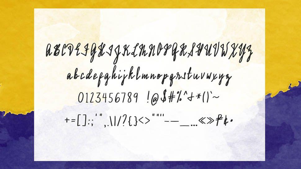 Assumption Handwriting Font In 2021 Cursive Writing Assumption Assumption College