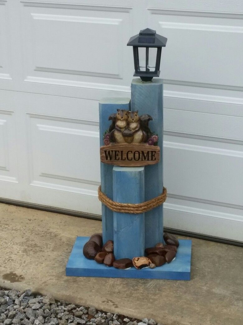 Solar light post more landscape timbers pinterest light posts solar light post more aloadofball Choice Image
