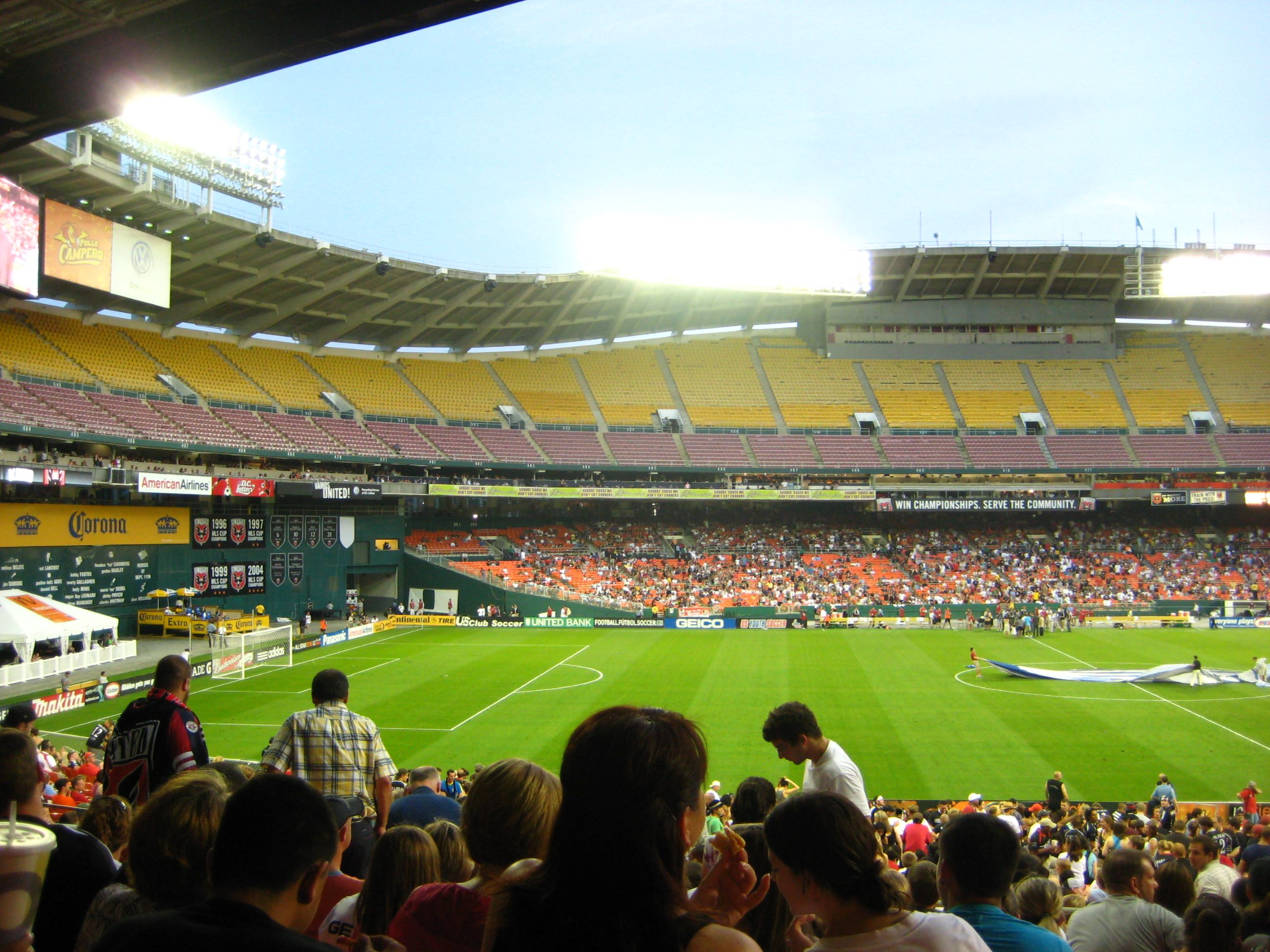 Rfk Stadium D C United Stadium Football Stadiums Soccer Field