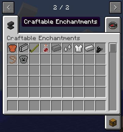 Craftable Enchantments Mod 1 14 4 1 13 2 1 12 2 1 11 2 1 10 2 1 8 9 1 7 10 Minecraft Modpacks Minecraft Modpacks Mod Minecraft Mods