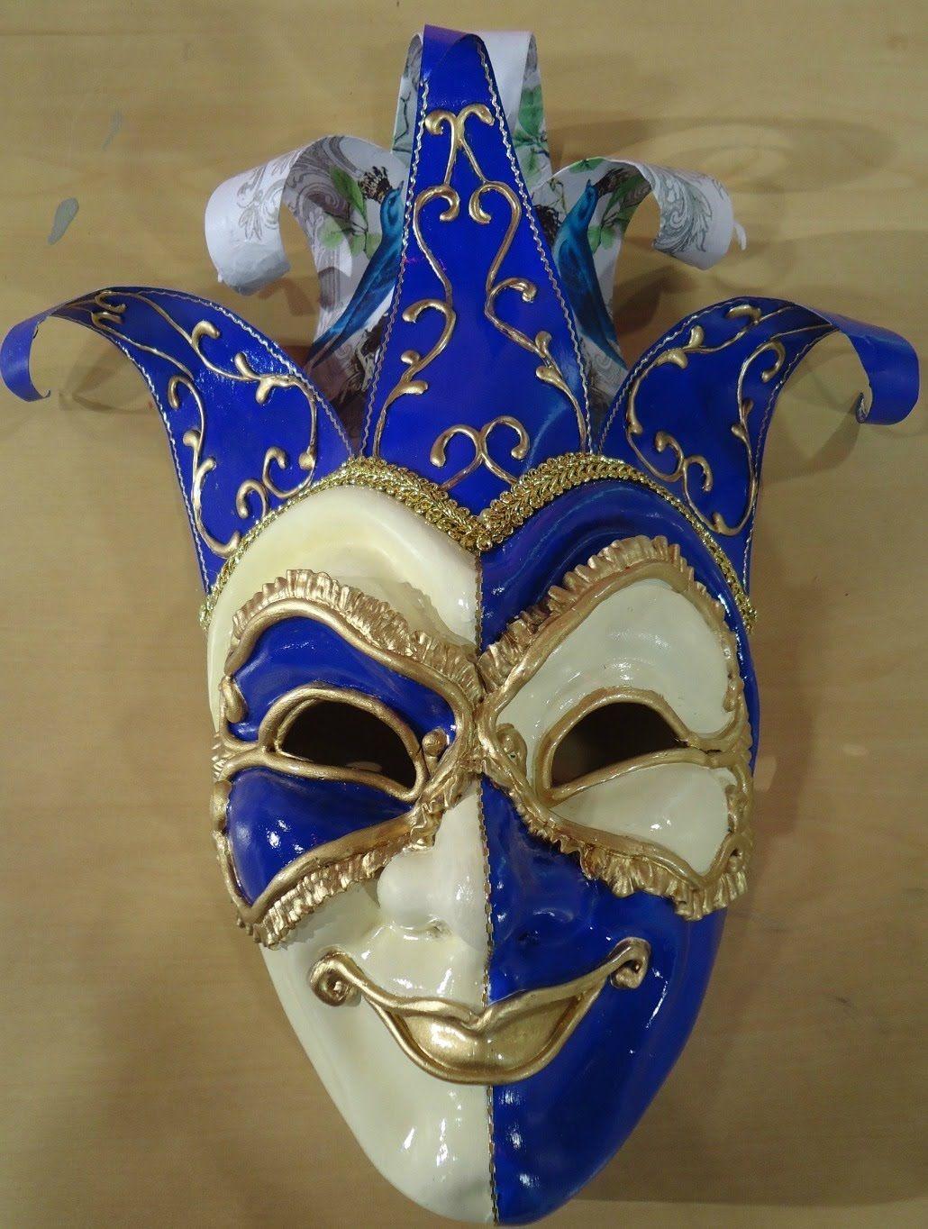 M scaras venecianas ideas para manualidades artesanias y costuras pinterest m scaras - Mascaras para carnaval manualidades ...