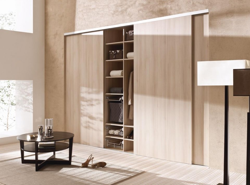 Sliding wardrobe doors komandor sliding door systems for Sliding door partition wall