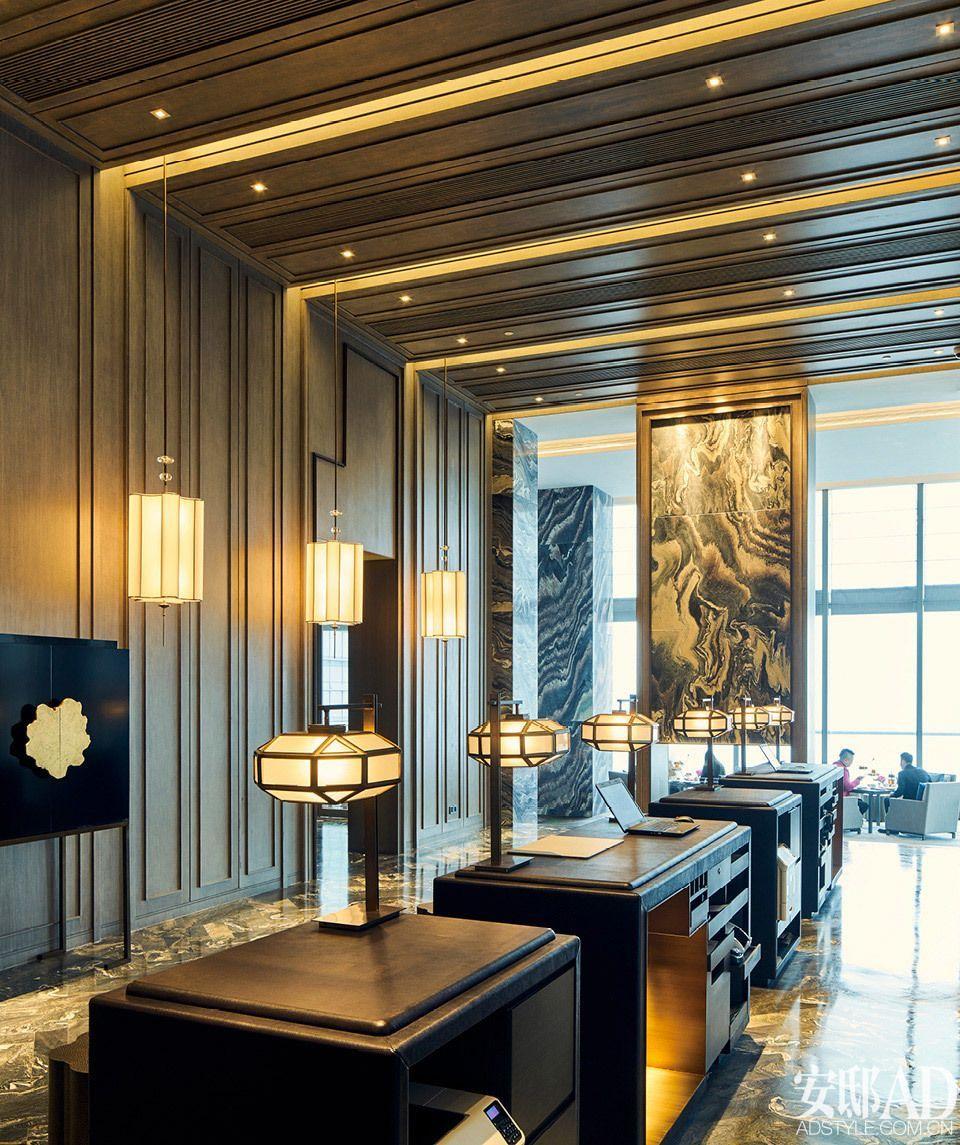 Le décor du lobby a toujours besoin d'une suspension luxueuse. Découvrez plus de détails luxueux sur luxxu.net