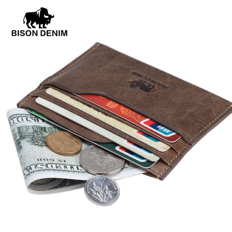 New wallet vintage leather genuine wallet men,Money Purses mini ...