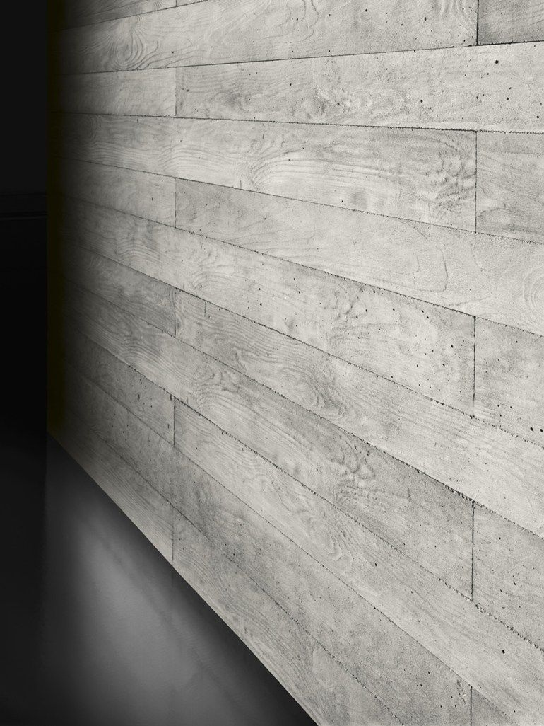 Planking Concrete Wall Tiles With Wood Effect Cimento