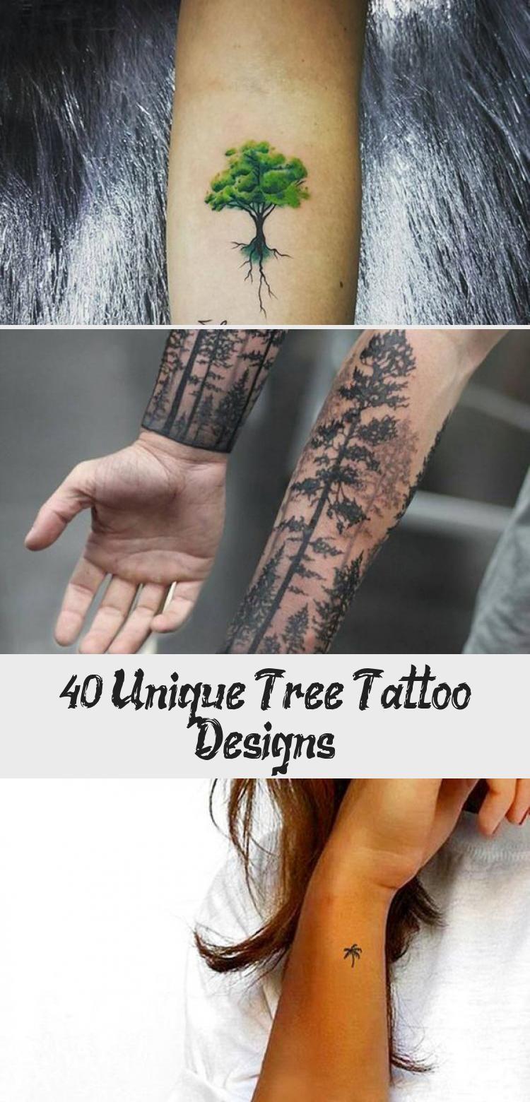 Photo of 40 conceptions uniques de tatouage d'arbre