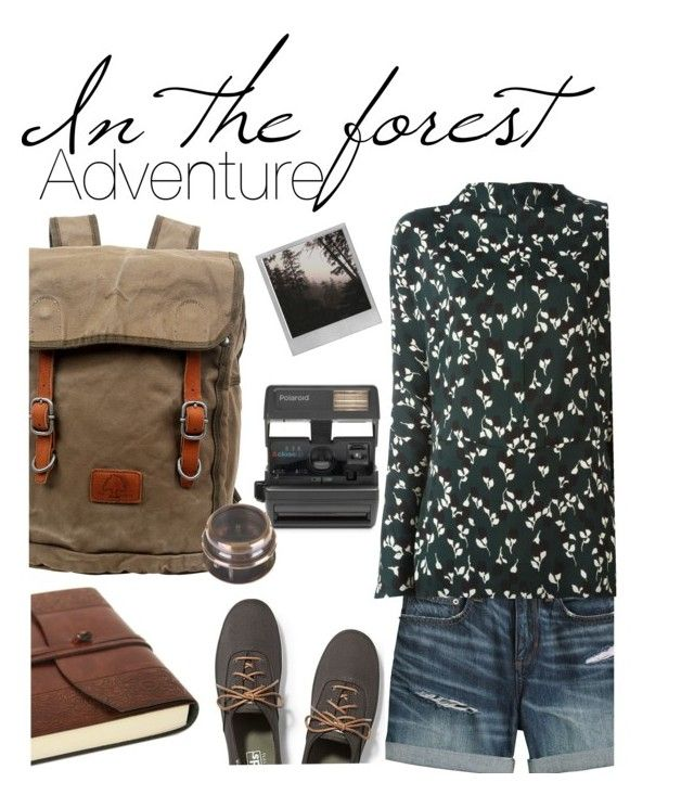 """Adventure: In The Forest"" by ddalginanabeauty ❤ liked on Polyvore featuring Canvas by Lands' End, Keds, TSD, Polaroid, Impossible, Flamant and Marni"