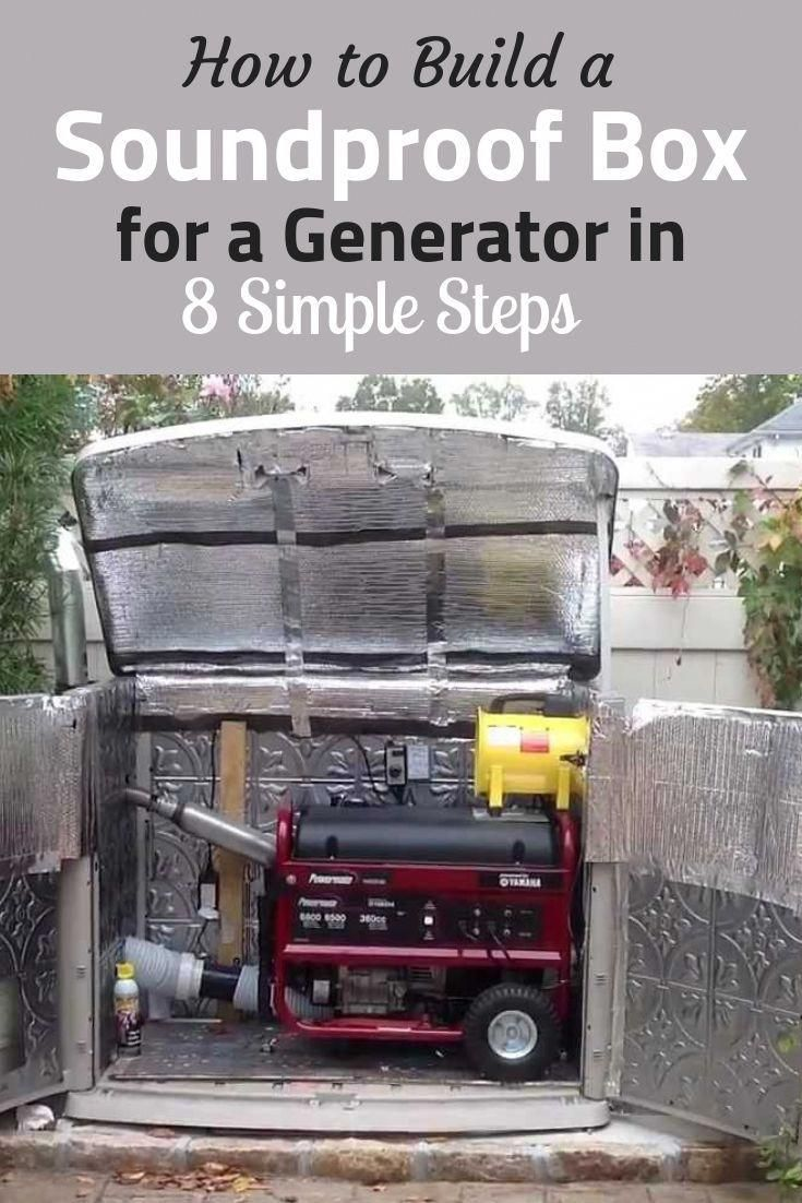 How to Build a Soundproof Box for a Generator in 8 Simple