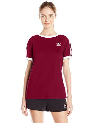 Women's Athletic Shirts | Adidas originals women, Striped