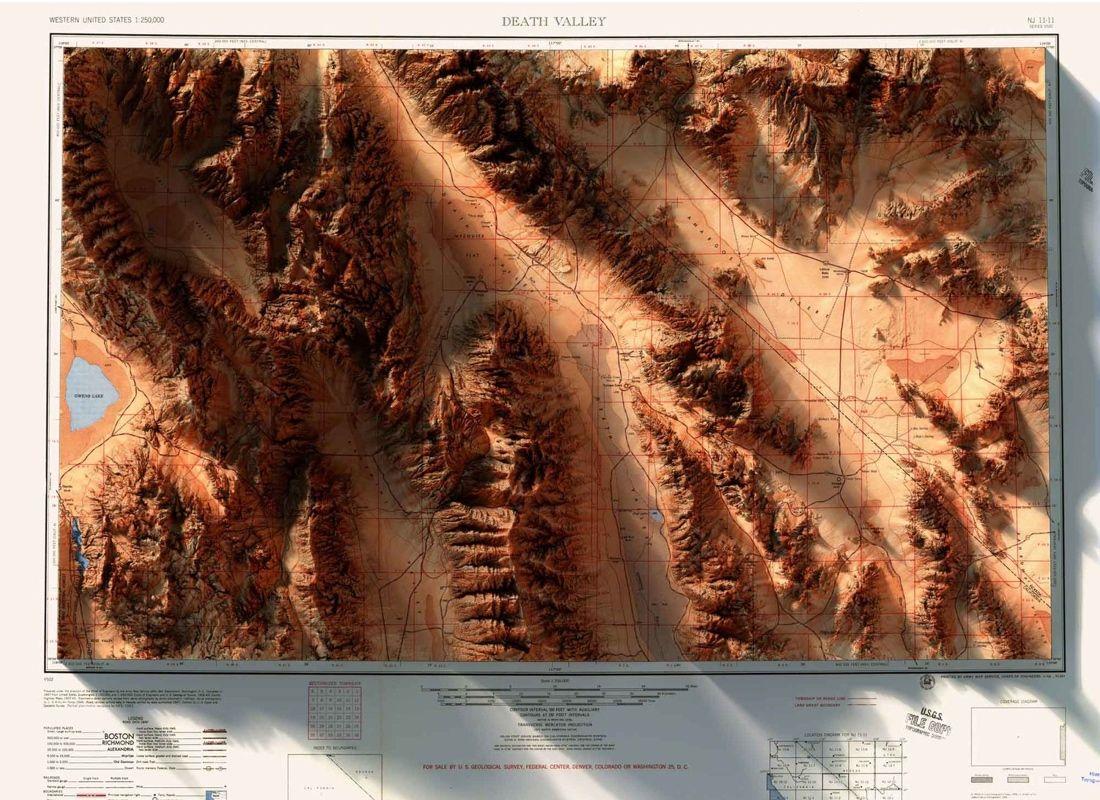 The Ventura Oxnard California Satellite Poster Map