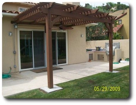 Wood Patio Cover Plans Patio Covers Designs And Blueprints