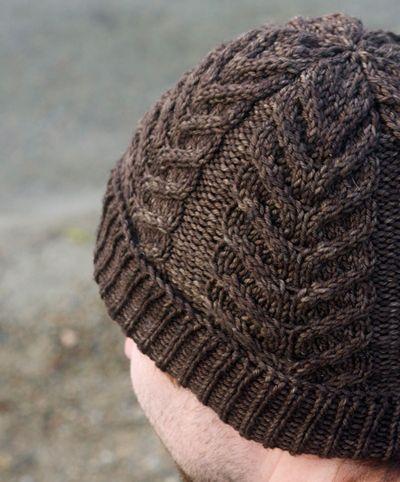 Knitting For Men Mens Hat Knitting Pattern Knitted Hats Antler Hat