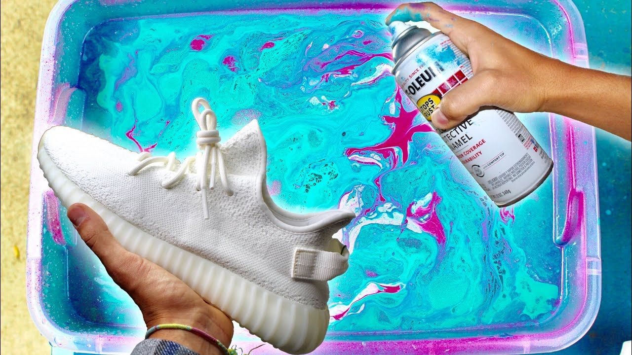 Hydro dipping yeezys giveaway with images yeezy