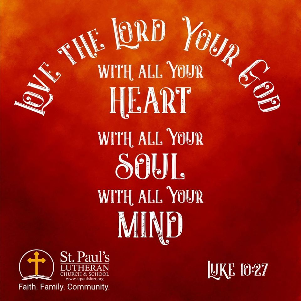 "No matter where you live, get to know your neighbors. God wants us to befriend our neighbors and share His love with them.  He answered, ""'Love the Lord your God with all your heart and with all your soul and with all your strength and with all your mind'; and, 'Love your neighbor as yourself.'  — Luke 10:27  #stpaulsfort #faithfamilycommunity #community #loveyourneighbor"