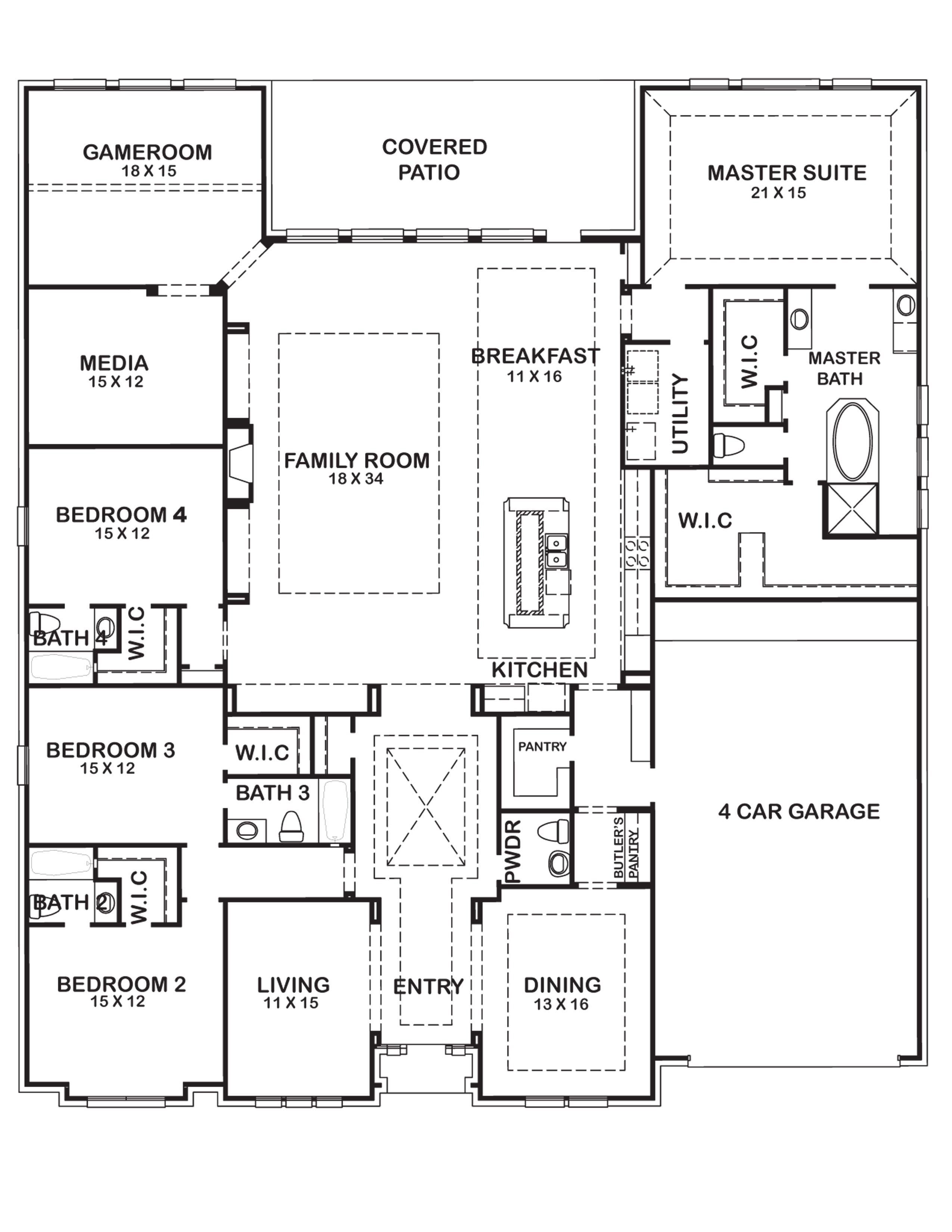 17410 Stone Stream Dr Houston Houses New Home Communities New Home Builders