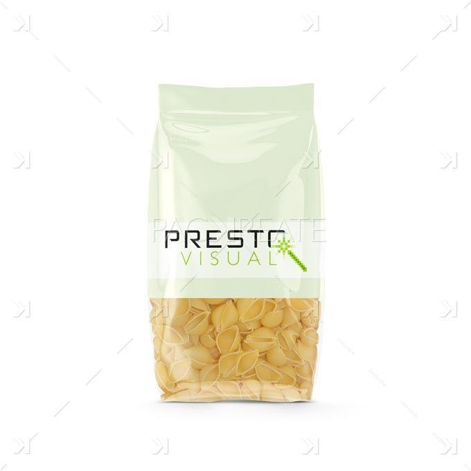 Download Pasta Bag Conchiglie Smart Label Packreate Packaging Mockup Bottle Mockup Conchiglie