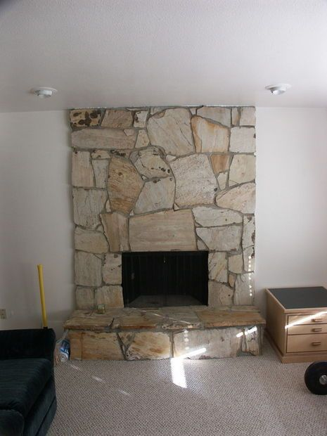 rebuild fireplace. Rebuilding a Fireplace Surround  facade Walls and Living