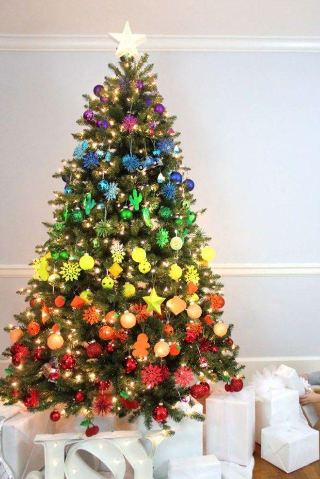 welche farbe ist trend die sch nsten weihnachtsb ume der. Black Bedroom Furniture Sets. Home Design Ideas