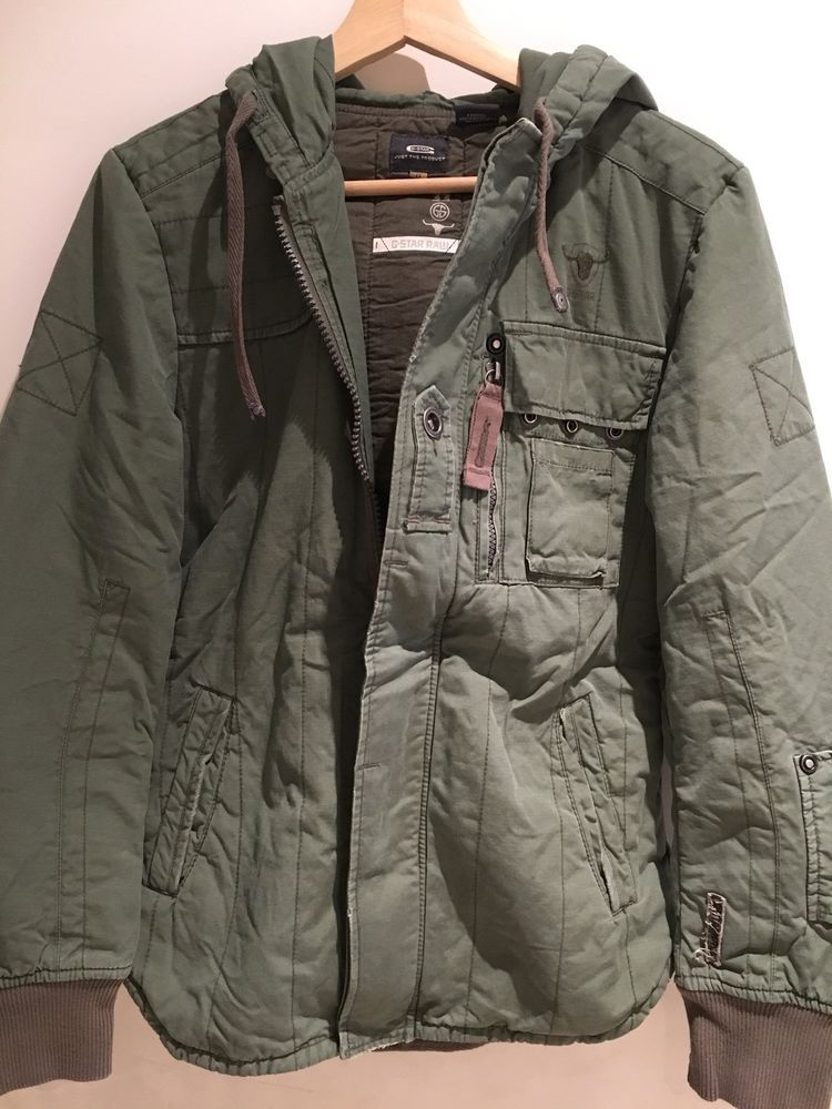 Men S G Star Raw Jeans Vintage Army Jacket S Vintage Army Jacket G Star Raw Jeans Army Jacket