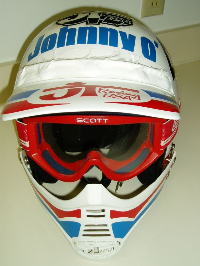 Johnny OMaras JT Racing Helmet