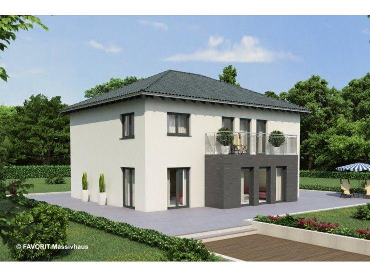Premium 92 93 einfamilienhaus mit einliegerwohnung elw for Walmdach modern