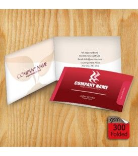 Folded 300gsm business card folded business cards provide more design your own folded business cards of select a business card template from fotosnipe gallery to start your business marketing campaign from today cheaphphosting Images