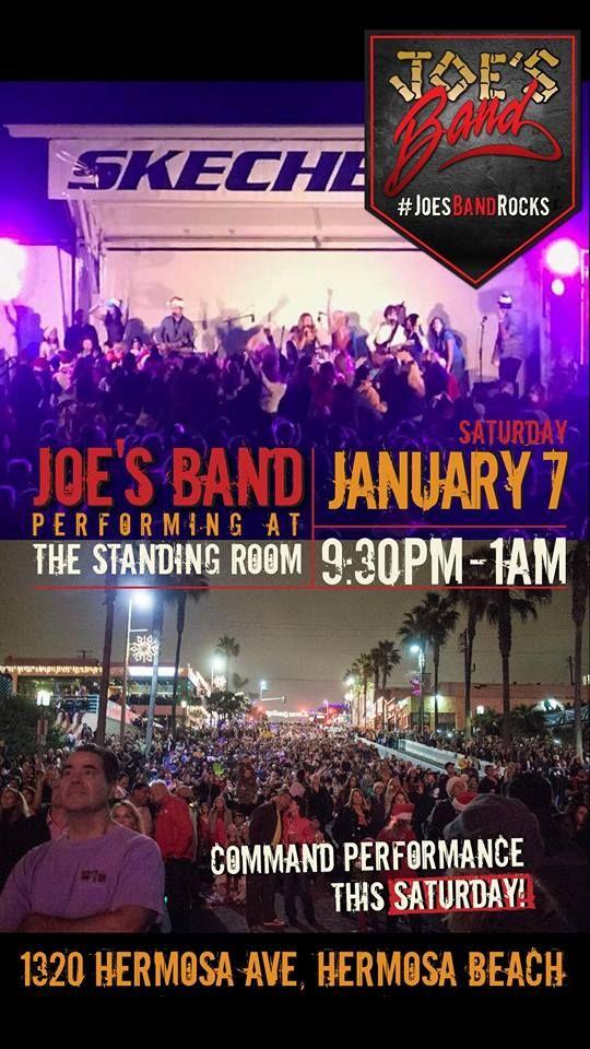 Daily Blog Joe's Band @ TSR January 7, 2017  #Southbay #Events #HermosaBeach #WhatsHappeningInTheSouthBay